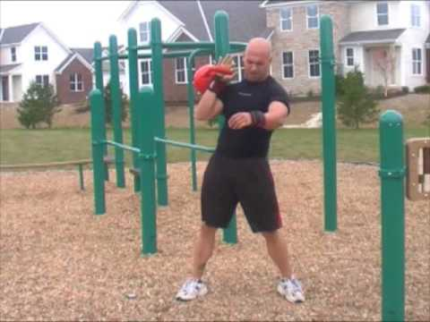Kettlebell Practicing- 3:00 of Hell