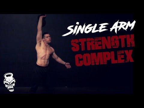 "Single Arm Kettlebell ""Strength Advanced"""