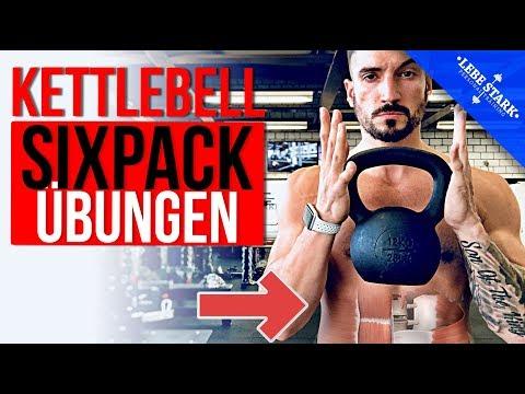 Die 5 besten Kettlebell Übungen für den Bauch – [SIXPACK-BUILDER]