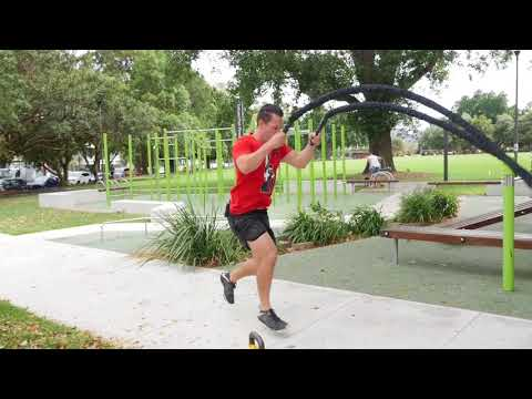 3 Implausible Struggling with Rope & Kettlebell Exercise Finishers