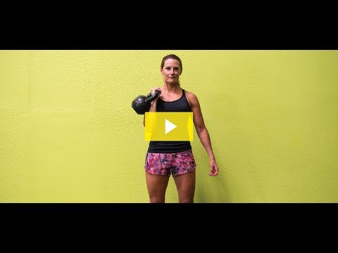 15-Minute Kettlebell Workout: Kettlebell Militia Press – ClubSport September Workout of the Month