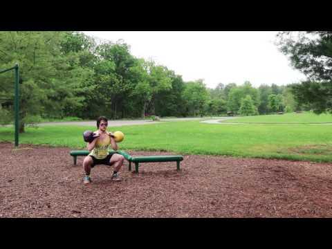 Intense, Plump Physique Kettlebell Workout