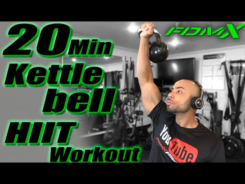 20 Minute Kettlebell Recount | Sizable for a Total Physique Kettlebell Boot Camp Recount
