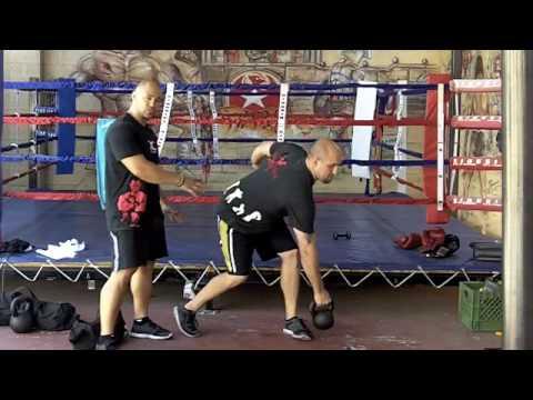 MMA Coaching Fighting Health Exercises | Final Sandbag and Kettlebell coaching