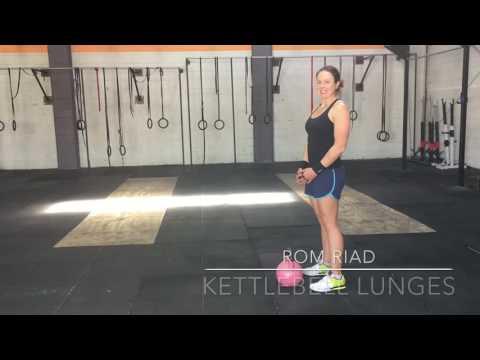 Kettlebell Lunge Adaptations