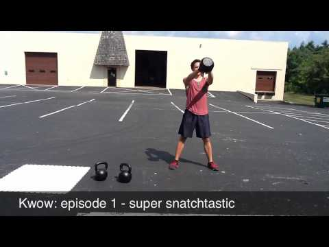 Kettlebell Grunt Of The Week: Episode 1 – Friendly Snatchtastic