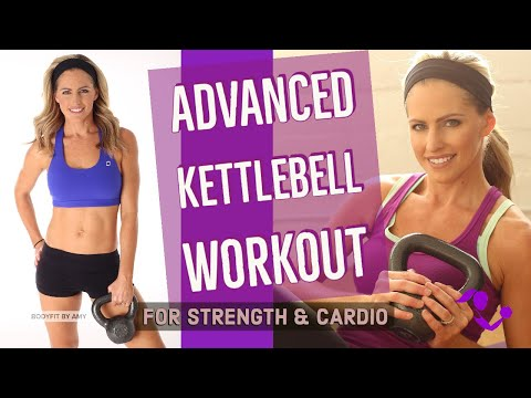 Forty five Minute Evolved Kettlebell Protest for Energy & Cardio