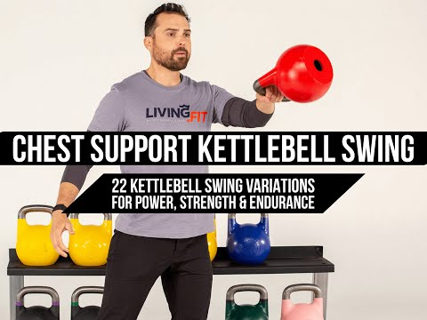 Chest Supported Kettlebell Swing