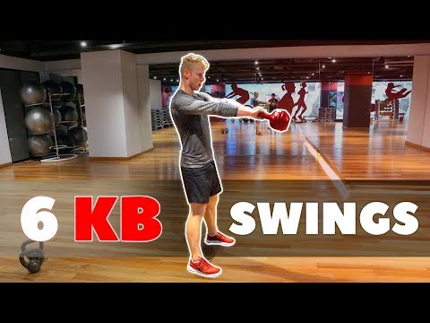 BUILD STRONG HIPS |  6 Kettlebell Swings