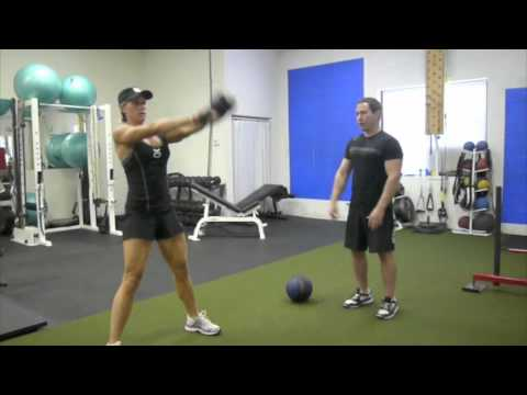 Kettlebell Workout for Females – Kettlebell Swing