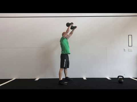 Dual Kettlebell Devil's Press