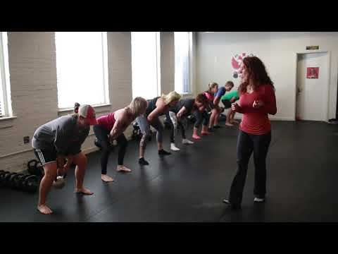 RKC Blog: Strength Swing Kettlebell Workout with RKC Group of workers Chief Kristy Agan