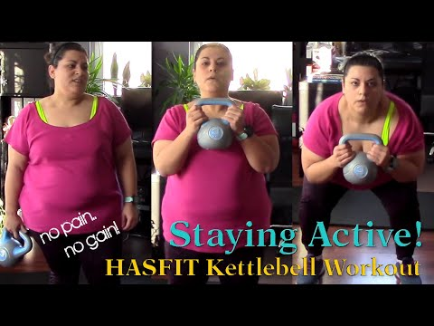 Staying Packed with life! Kettlebell Affirm | Weightloss Go