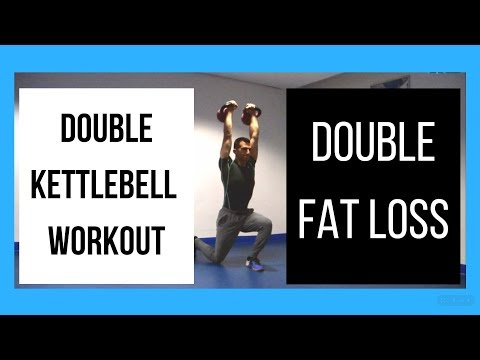 Double Kettlebell Dispute for Fat Loss [Burn FAT & Build MUSCLES] (2018)