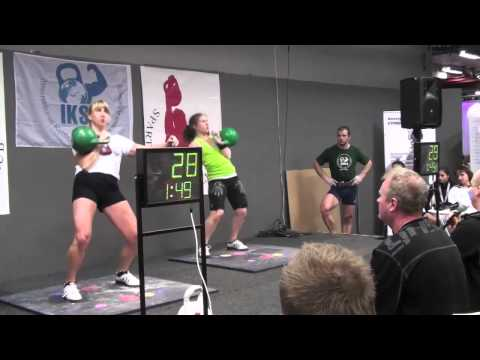 The closest female Kettlebell Solid-sport competition ever!