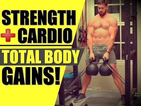 """Total Physique """"Kettlebell Cardio"""" Exercise for EXPLOSIVE Strength & Corpulent-Loss 