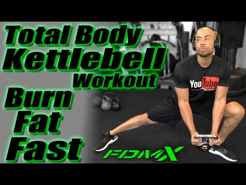 The Perfect Kettlebell Workout | Tubby Body Workout: Kettle Bell Allege Routine,  Burn Elephantine FAST