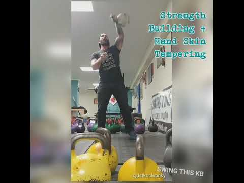 Heavy Kettlebell Workout : Half Snatch for Strength and Pores and skin Tempering