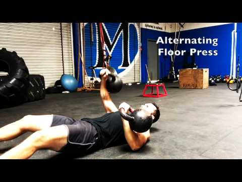 MMA Kettlebell Exercise for Power