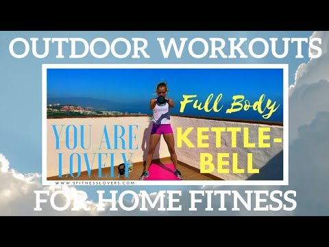 40 Minute Plump Body Kettlebell Workout | Outdoors Exercises For Dwelling Health