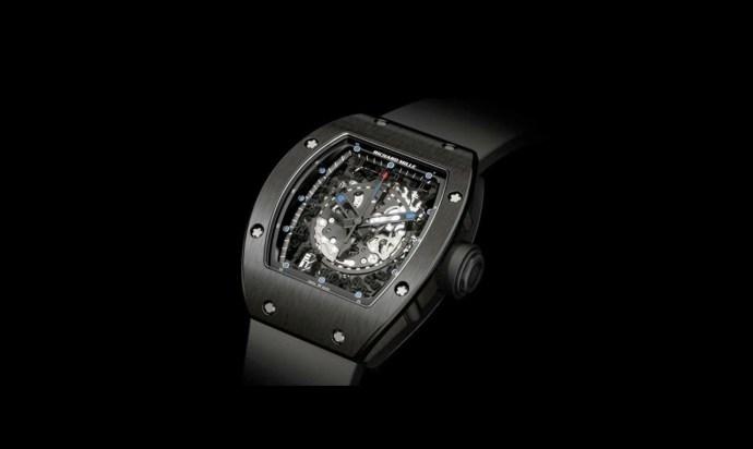 Richard Mille RM10 Titanium Black Skeleton
