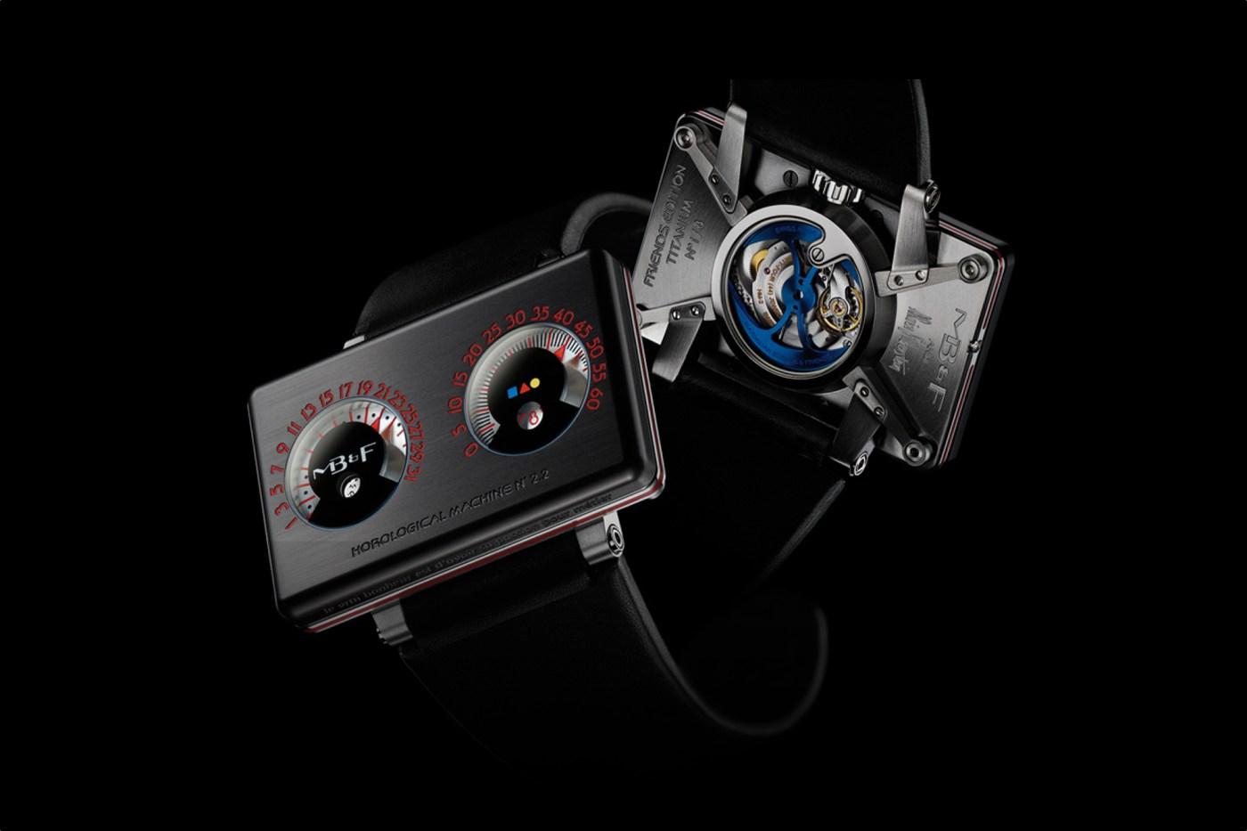 MB&F HM2.2 Black Box by Alain Silberstein