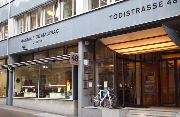 Maurice de Mauriac Zurich storefront