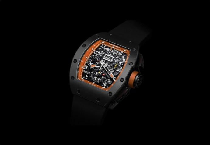 Richard Mille RM 011 DLC Titanium Orange