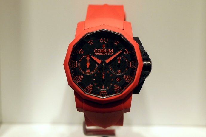 Corum Admiral's Cup Challenge 44 Chronograph Rubber