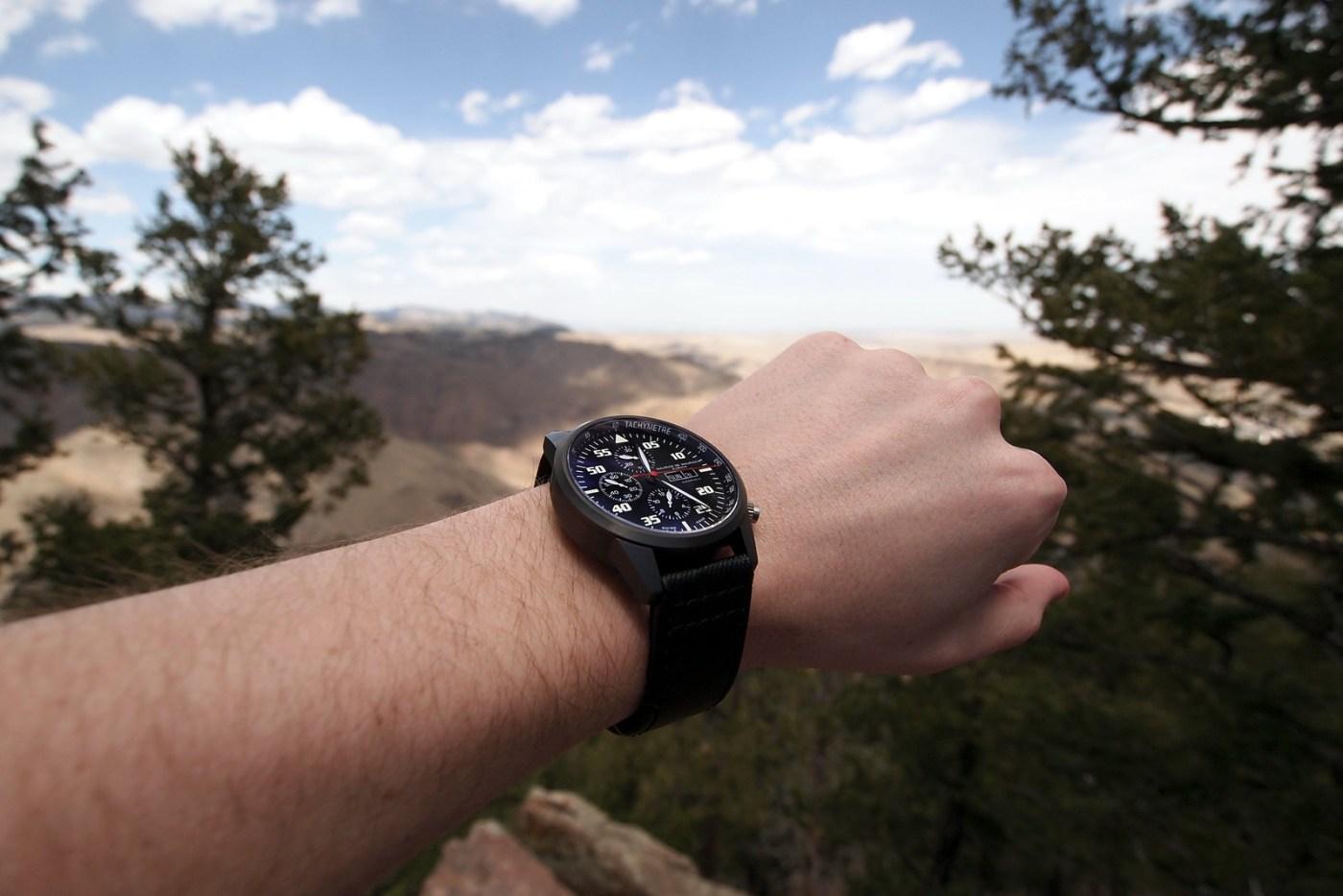 Maurice de Mauriac wristshot in Colorado
