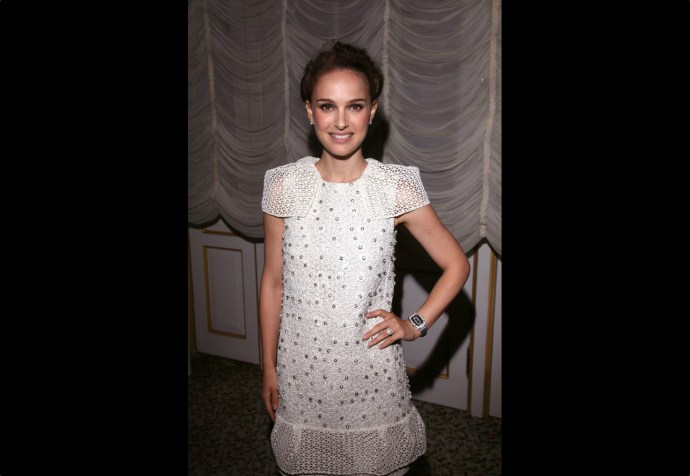 Natalie Portman wearing Richard Mille