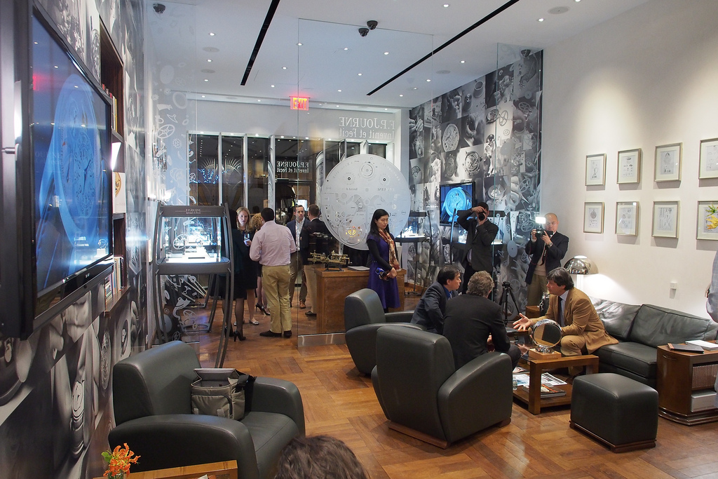 F.P. Journe launch party press preview