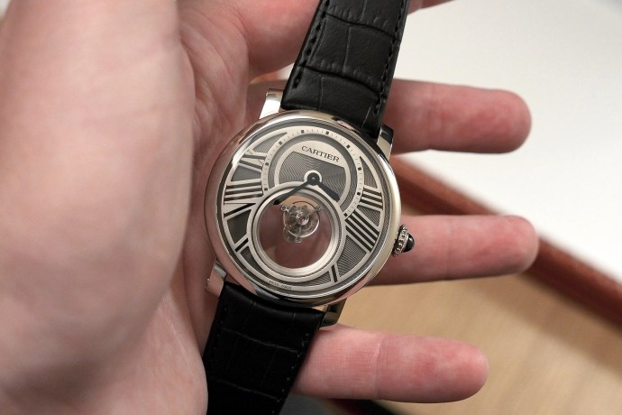 Cartier Mysterious watch hands-on
