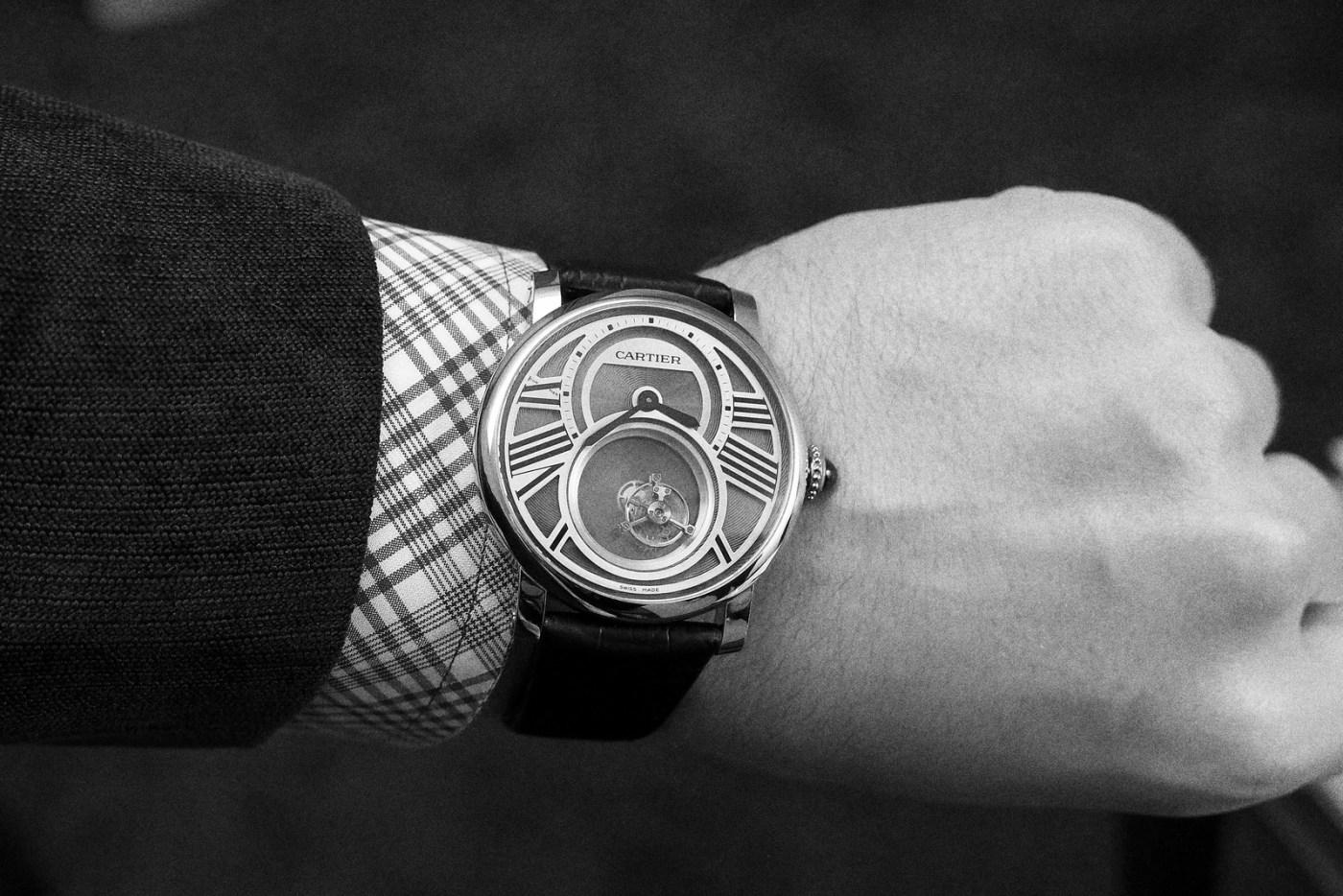 Cartier Mysterious wristshot