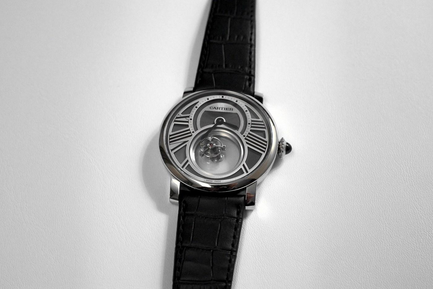Cartier Mysterious watch