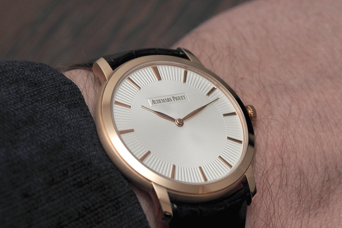Audemars Piguet Jules Audemars Extra-Thin wristshot