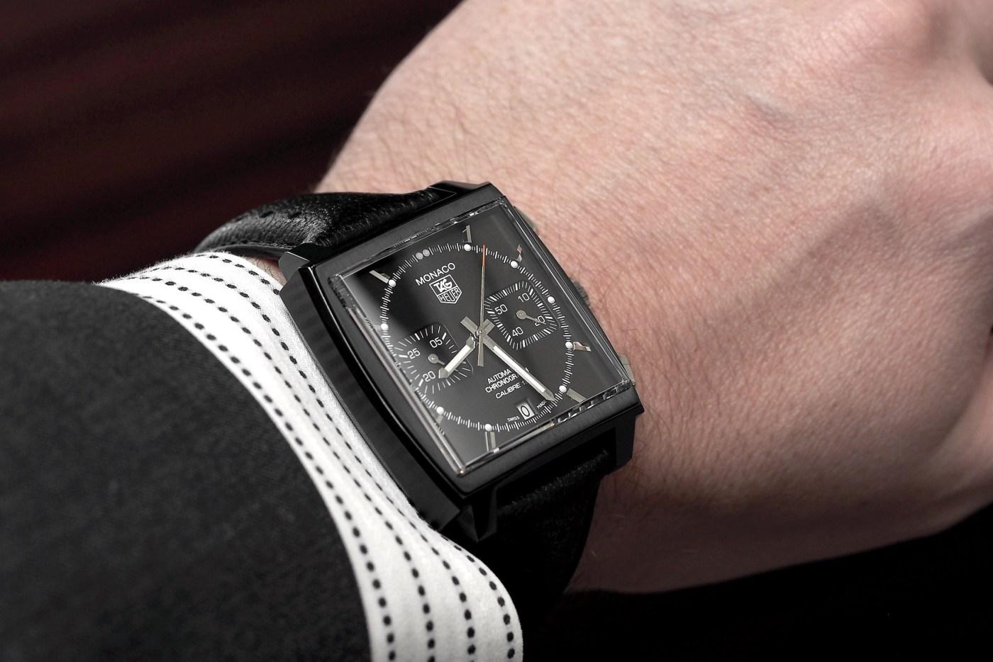 Heuer Monaco Calibre 12 Chronograph ACM Black Edition
