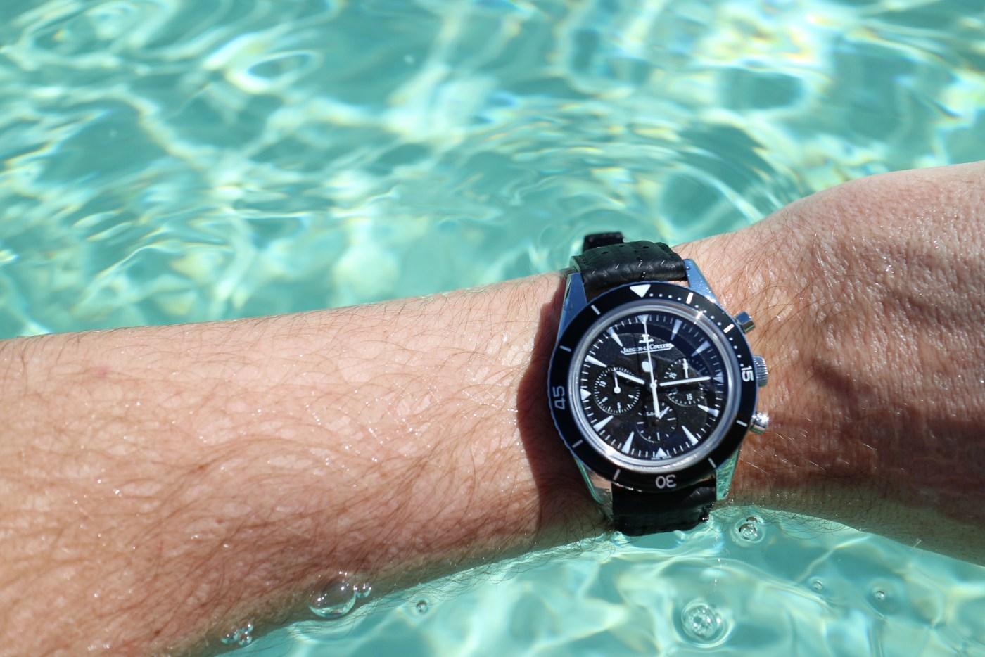 Jaeger-LeCoultre Deep Sea Chronograph wristshot