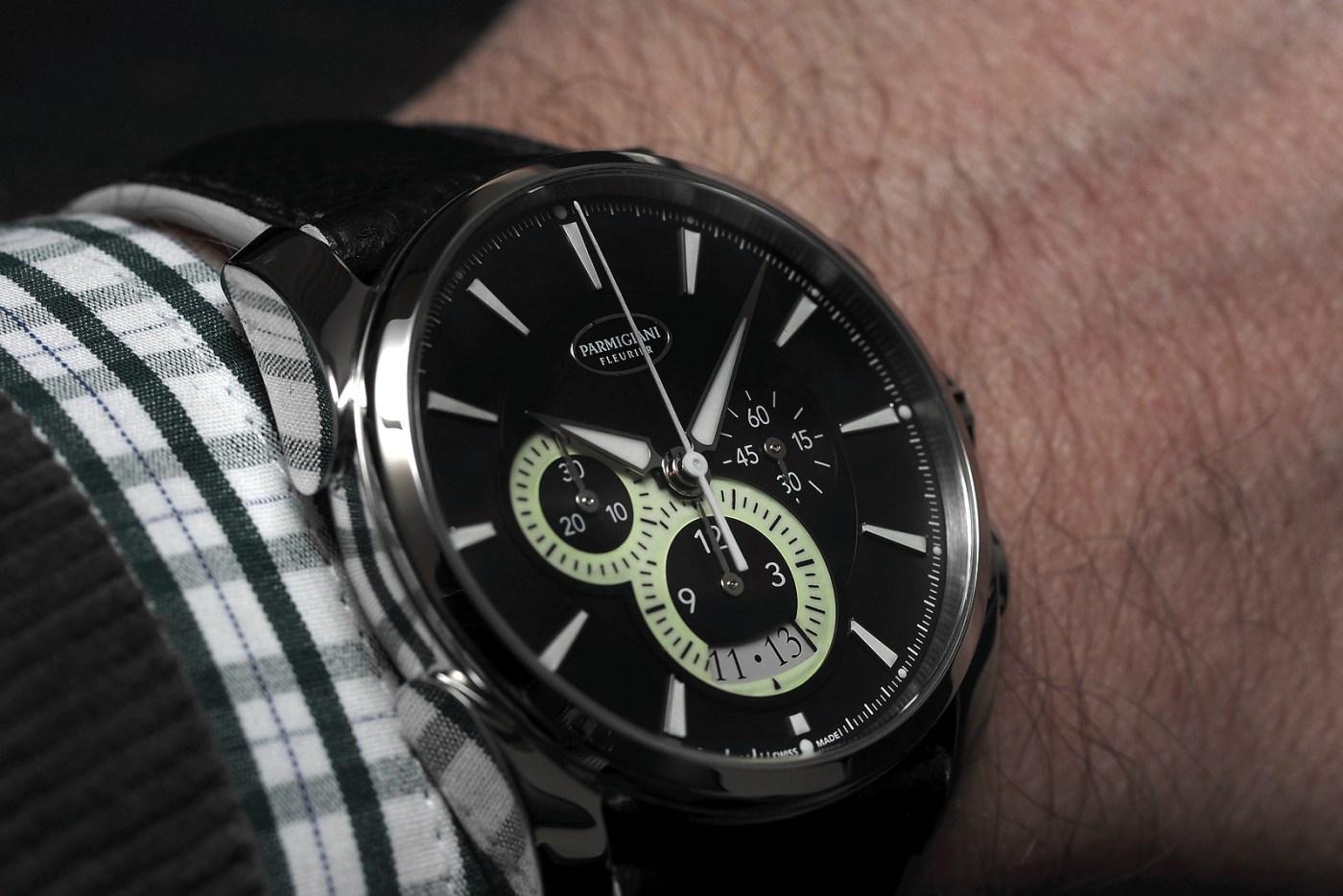 Parmigiani Fleurier Tonda Metrographe wristshot