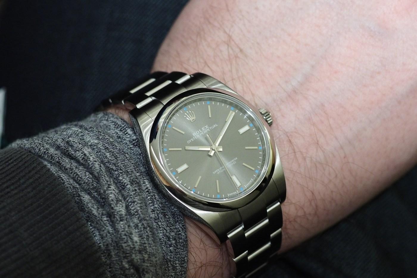 Rolex Oyster wristshot