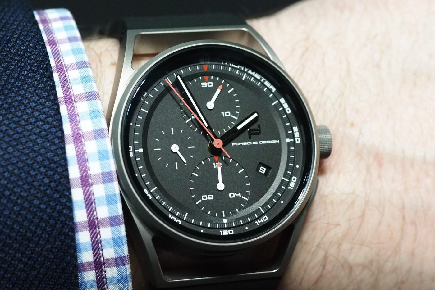 Porsche Design Chronomtimer wristshot