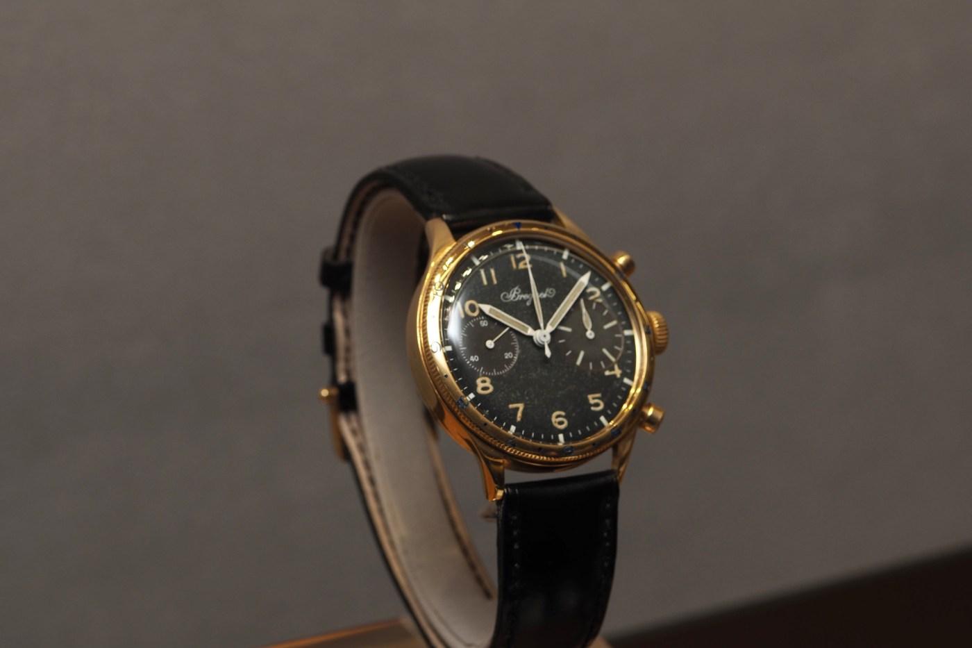 Type 20 wristwatch chronograph, first-generation