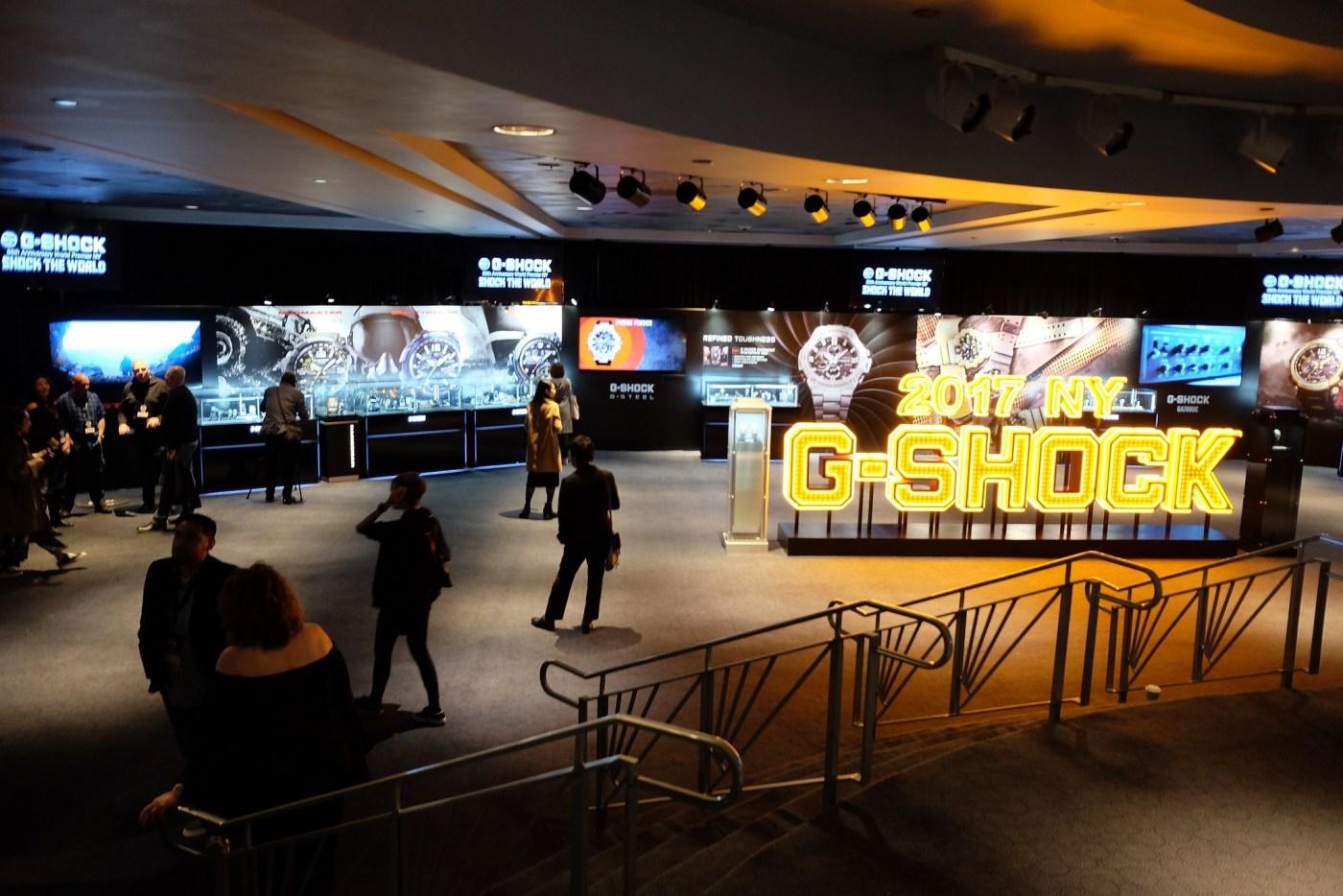Casio G-Shock 35th Anniversary Celebration