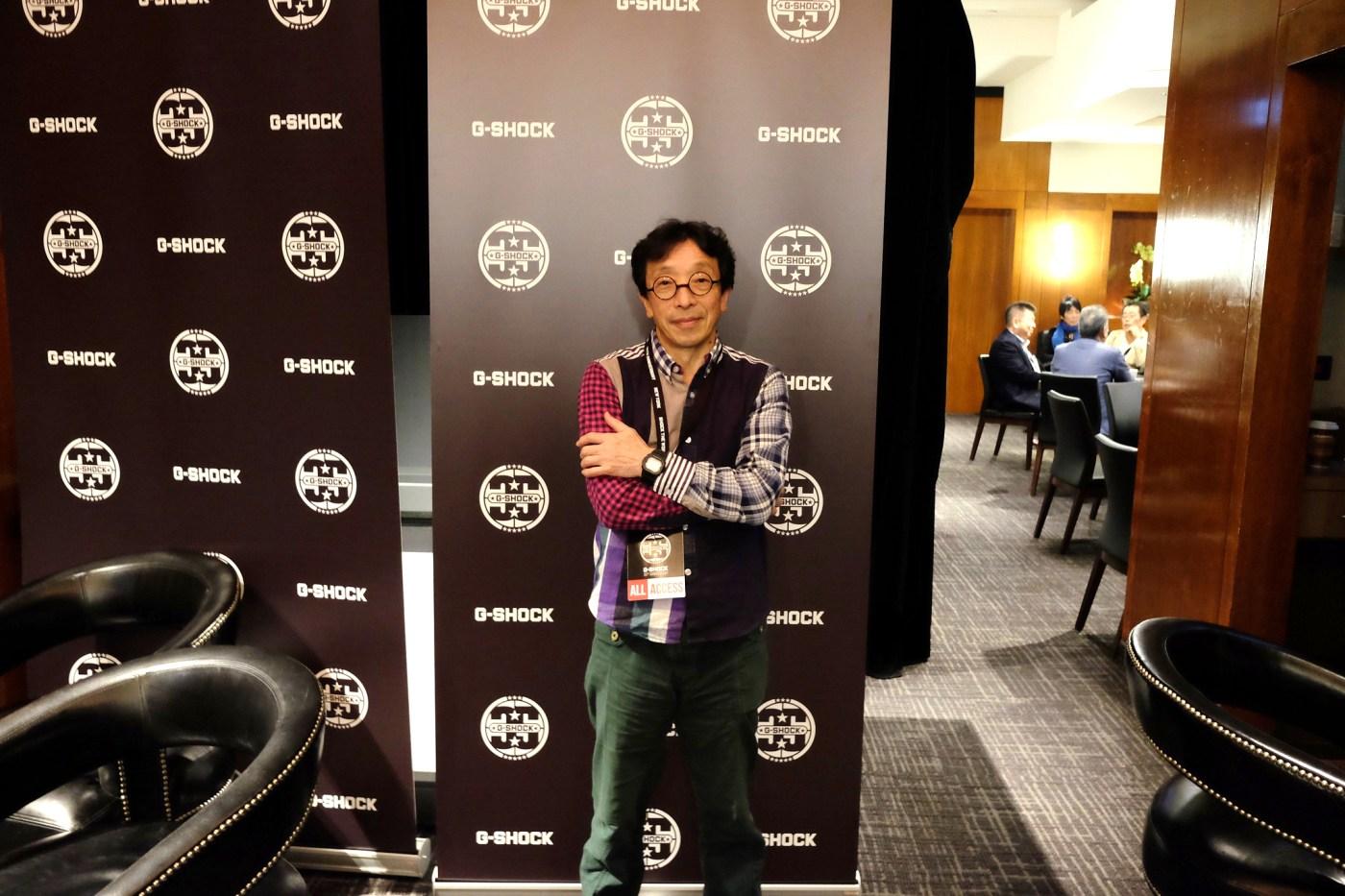 Kikuo Ibe, creator of the original G-Shock in 1983