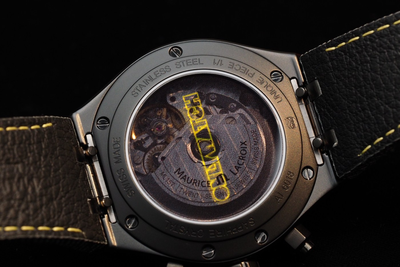 Only Watch 2017 Maurice Lacroix Aikon-Automatic Chronograph caseback
