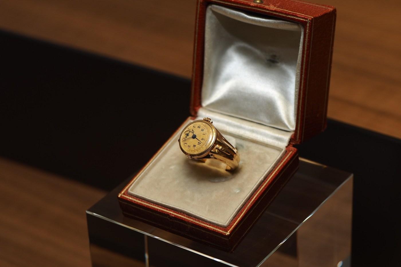Breguet No. 180 Gold Ring Watch