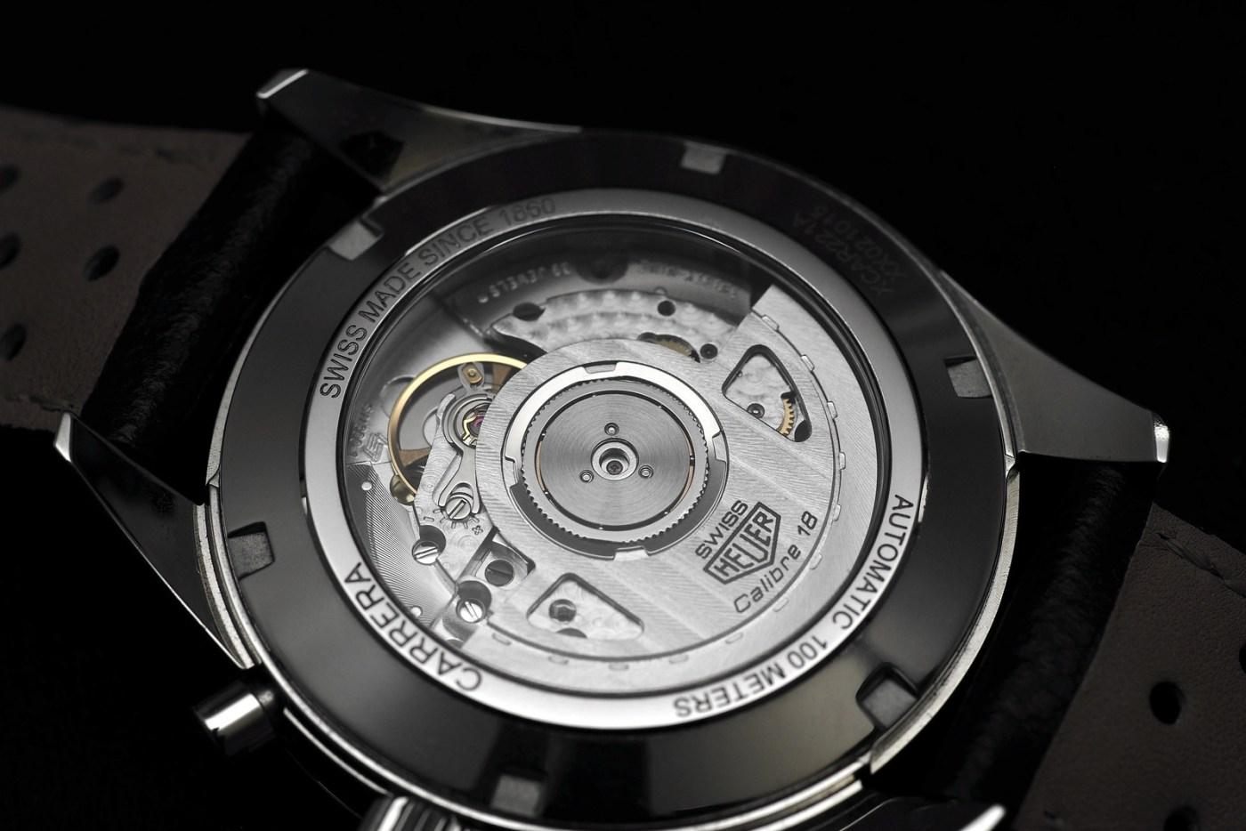 TAG Heuer Carrera Calibre 18 Automatic Chronograph movement