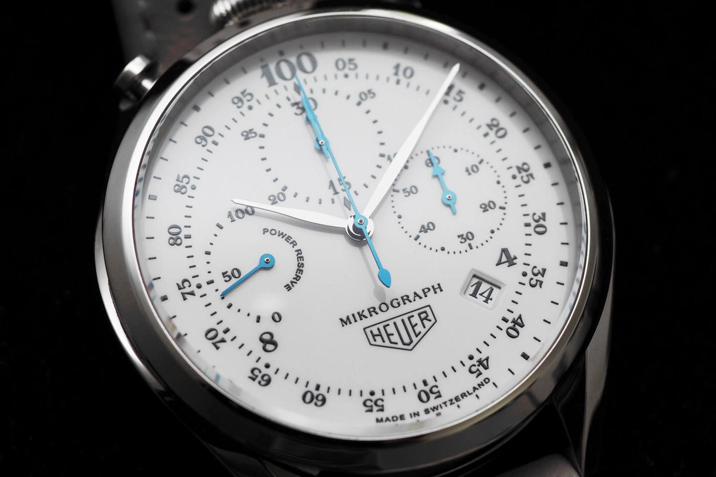TAG Heuer Carrera Mikrograph 100th Anniversary Special Edition