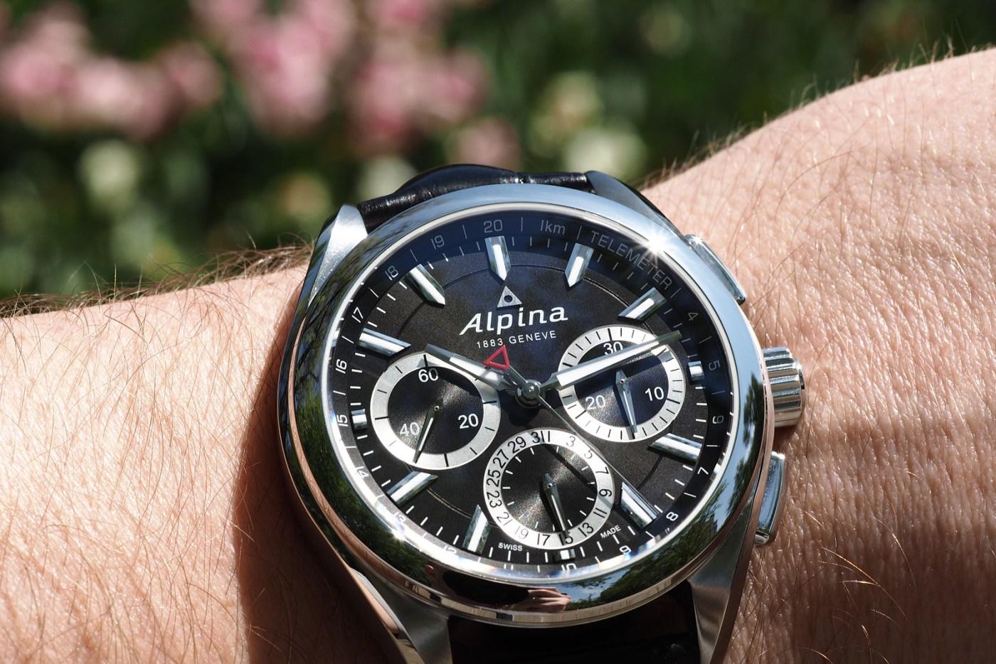 Alpina Alpiner 4 Chronoflyback wristshot