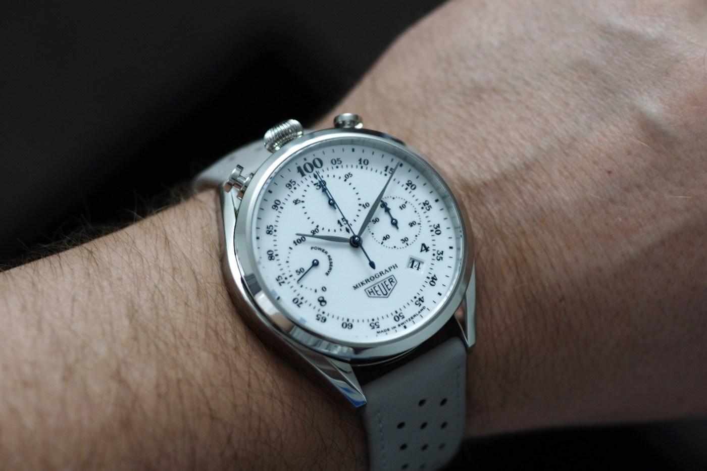 TAG Heuer Mikograph wristshot